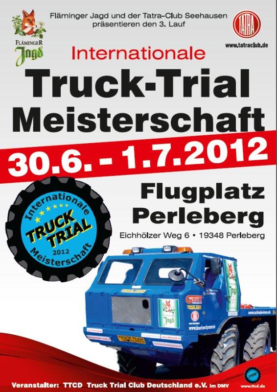 Baggermatten.de organisiert mit: Truck Trial Meisterschaft 2012 in Perleberg