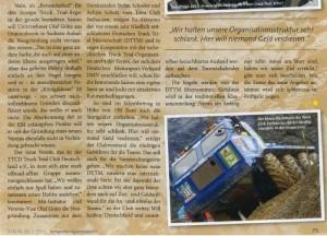 TTCD Truck Trial Club Deutschland e.V. im Schwerlastmagazin 2011